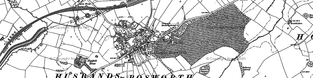 Old map of Wheler Lodge in 1885