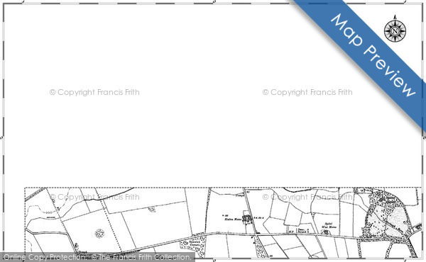 Historic Map covering Broadmeadows Ho