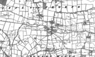 Old Map of Hutton Magna, 1854 - 1912