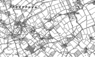 Old Map of Hyde, 1885 - 1886