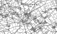 Old Map of Hyde Ash, 1885 - 1886