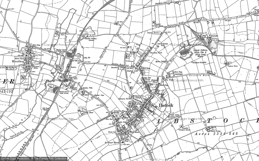 Old Maps of Sence Valley Forest Park  Francis Frith