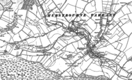 Old Map of Ibthorpe, 1894 - 1909