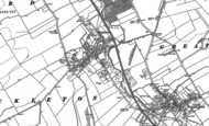 Old Map of Ickleton, 1901