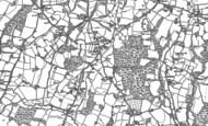 Old Map of Iden Green, 1896 - 1907
