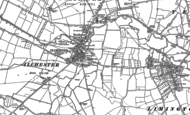 Old Map of Ilchester, 1885 - 1901