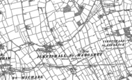 Old Map of Ilketshall St Margaret, 1883 - 1903