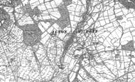 Old Map of Ilton, 1890