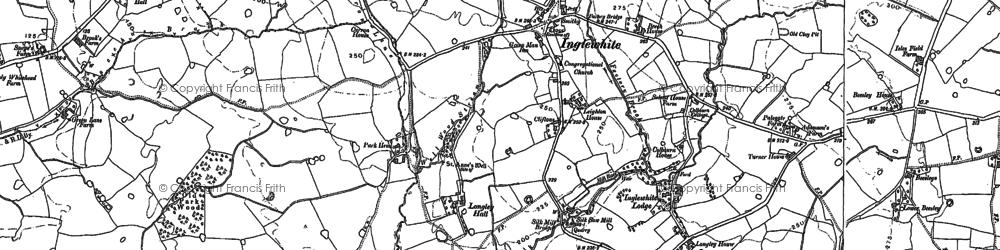 Old map of Winn Ho in 1892