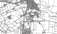 Old Map of Ingoldisthorpe, 1885 - 1904