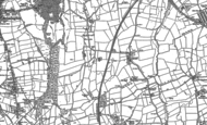 Old Map of Inkersall, 1876