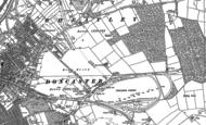 Old Map of Intake, 1890