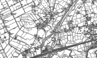 Old Map of Irlam, 1894 - 1904