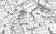 Old Map of Isle Abbotts, 1886