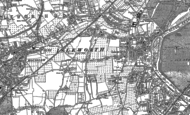 Old Map of Isleworth, 1894 - 1912
