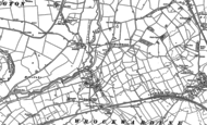 Old Map of Isombridge, 1881