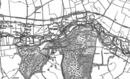 Old Map of Itchen Abbas, 1895