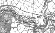 Old Map of Itchen Stoke, 1895