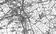 Old Map of Jacksdale, 1880 - 1899