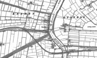 Old Map of Keadby, 1885 - 1906