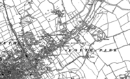 Old Map of Keddington, 1886 - 1888