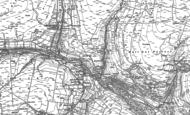 Old Map of Keld, 1891 - 1950