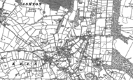 Old Map of Kelsall, 1897