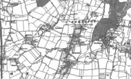 Old Map of Kemerton, 1884 - 1900