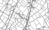 Old Map of Kempston Hardwick, 1882