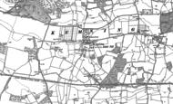 Old Map of Kemsing, 1895