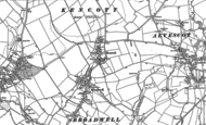 Old Map of Kencot, 1898 - 1919