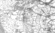 Old Map of Kenfig, 1897