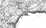 Old Map of Kennack Sands, 1906