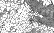 Old Map of Kenton, 1888
