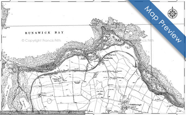 Historic Map covering Butter Howe