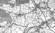 Old Map of Kexbrough, 1891