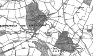 Old Map of Kiddington, 1898