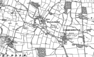 Old Map of Killerby, 1896