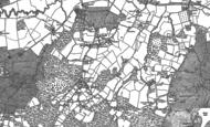 Old Map of Kilndown, 1907