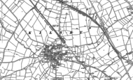 Old Map of Kilsby, 1884 - 1899