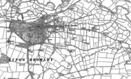 Old Map of King's Bromley, 1882
