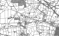 Old Map of King's Newnham, 1886 - 1903