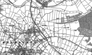 Old Map of King's Newton, 1899