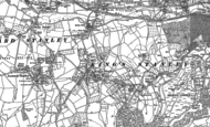 Old Map of King's Stanley, 1882