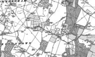 Old Map of Kingsdown, 1896