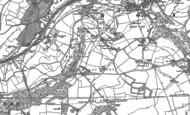 Old Map of Kingsdown, 1919 - 1922