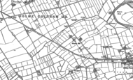 Old Map of Kingside Hill, 1899