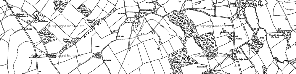 Old map of Astley in 1901