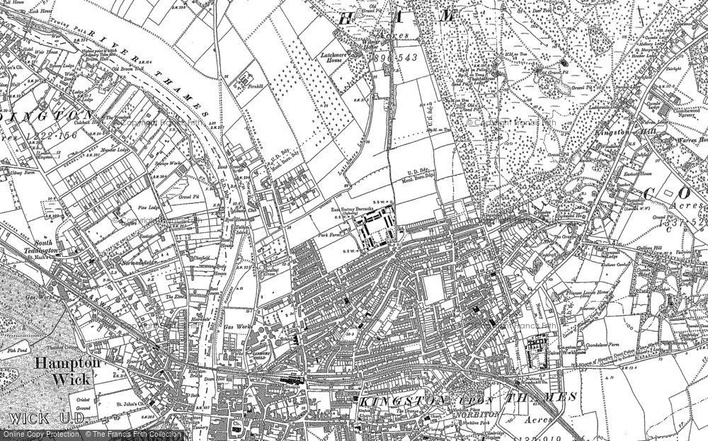 Old Maps of Kingston Upon Thames Francis Frith