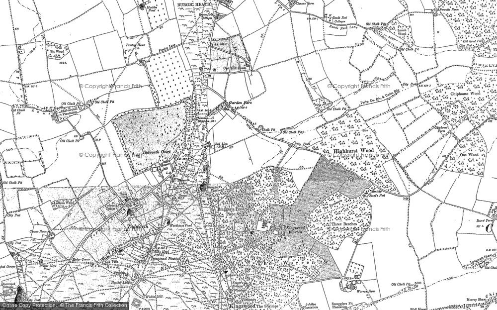 Old Maps of Kingswood Francis Frith